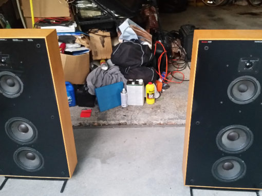 Boston Acoustics A-400 Restoration
